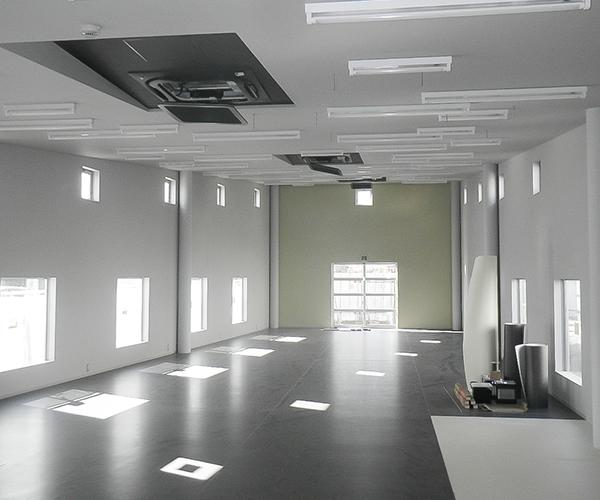 内山医院 内装工事1