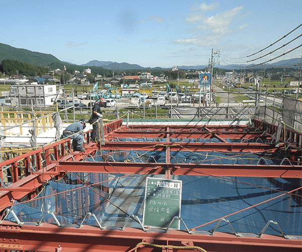 内山医院 屋根工事3