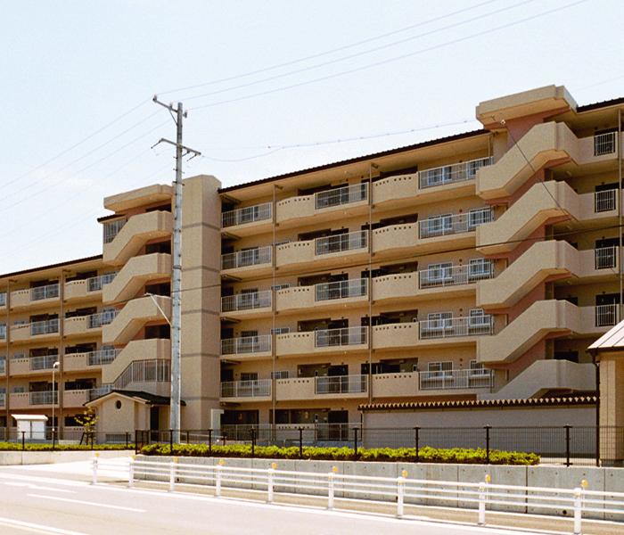 集合住宅マンション施工例