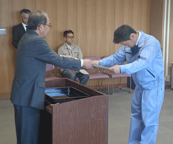 豊川市役所より優良工事顕彰を受賞3