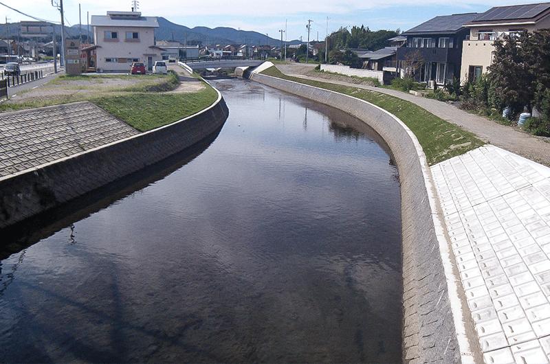 中小河川改良工事