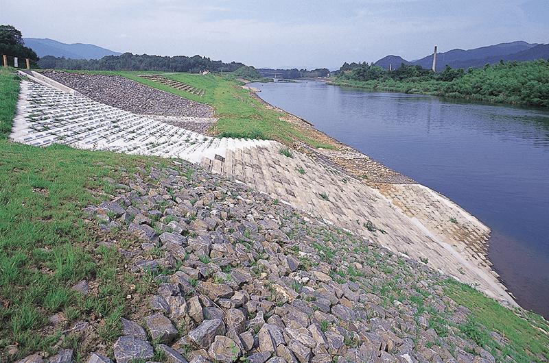 豊川野田護岸災害復旧工事