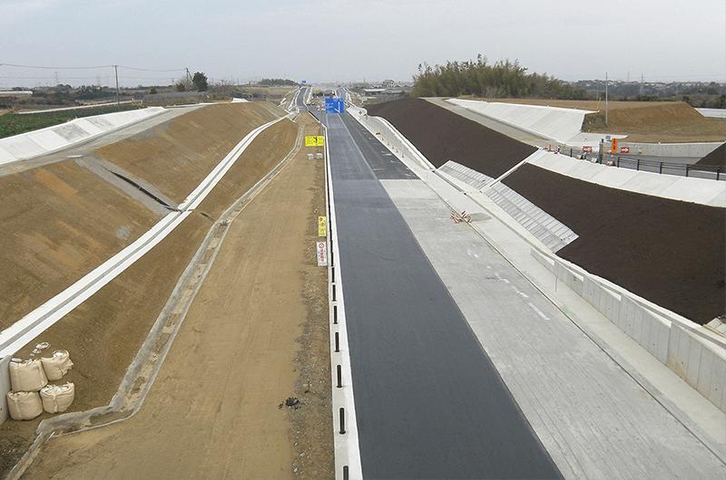 23号豊橋東BP小島西道路建設工事