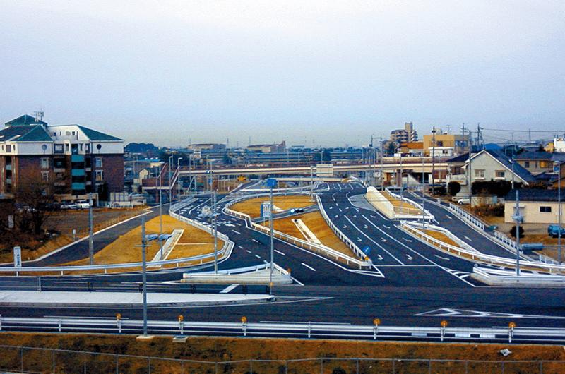 155号駒場・美山改良工事