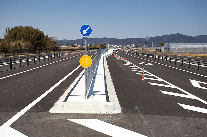 道路改良工事(東三河環状線)