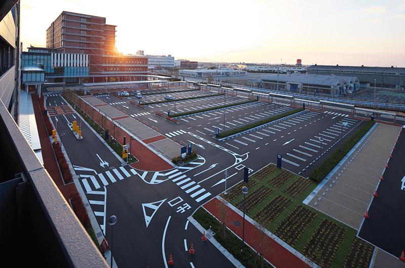 豊川市市民病院外構整備事業
