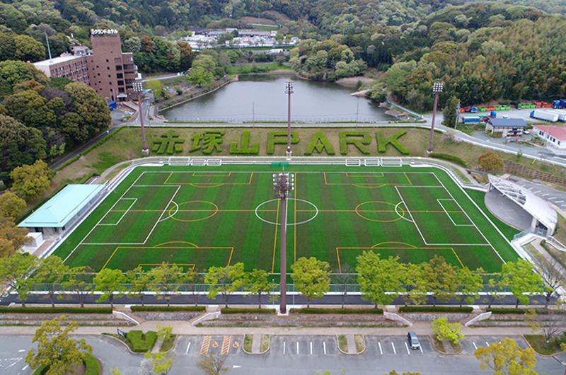 赤塚山公園市民のスクエア改修工事