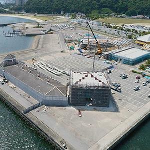 海陽ヨットハーバー整備工事 撮影
