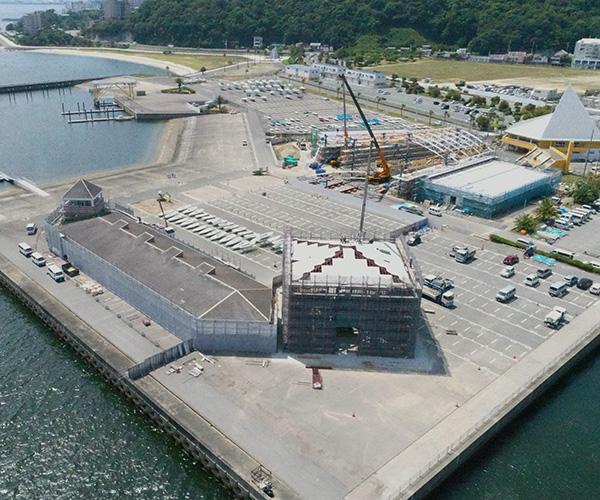 海陽ヨットハーバー整備工事 撮影2