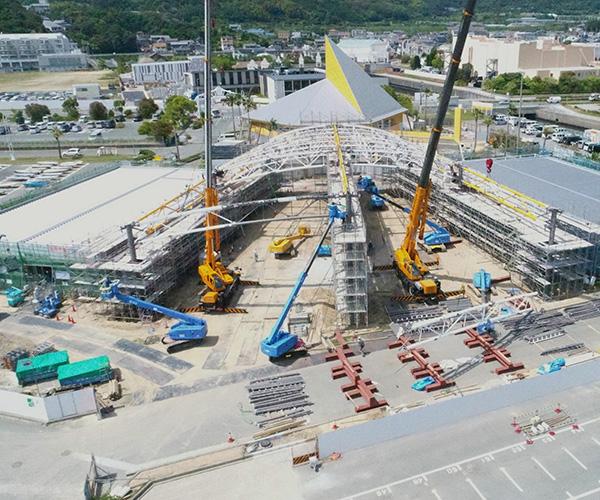 海陽ヨットハーバー整備工事 撮影4