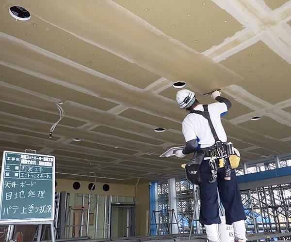 海陽ヨットハーバー整備工事 内装工事3