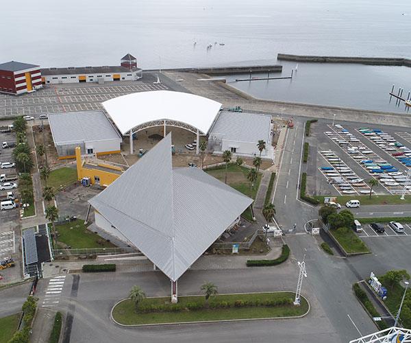 海陽ヨットハーバー整備工事 空撮写真4