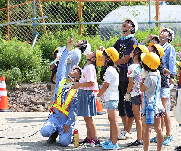 子供チャレンジ建設体験会を開催しました3