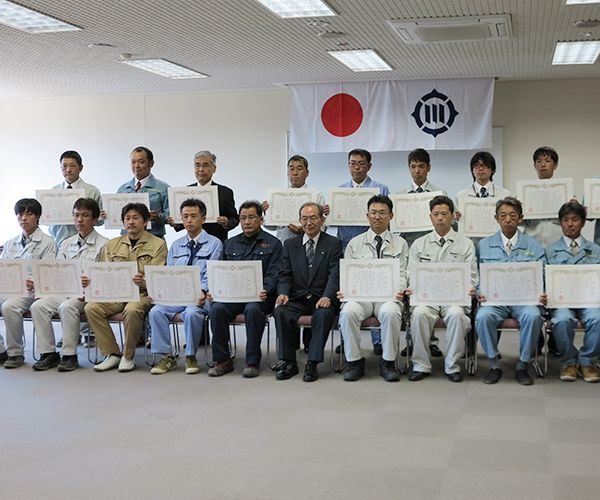 豊川市優良工事顕彰を受賞しました2