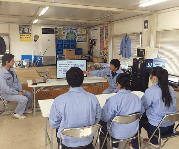 豊川高校の皆さんにインターンシップを行いました2