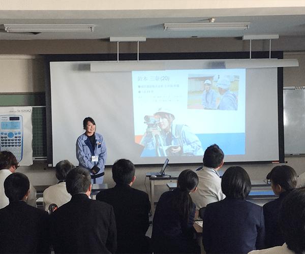 豊橋工業高校にてイブニングサロンを行いました3