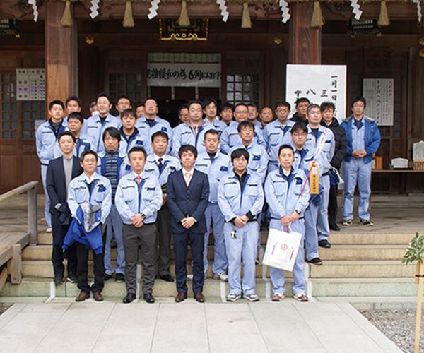 新年安全祈願を砥鹿神社にて行いました1