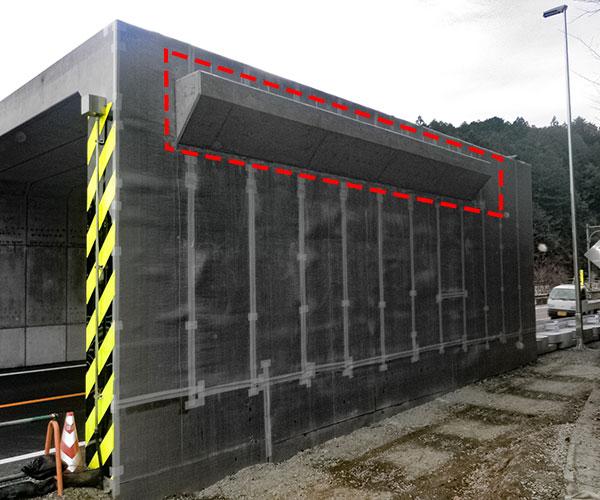 平成29年度 設楽ダム設楽根羽線1号橋下部工事 完了1