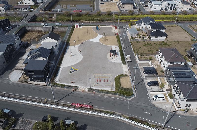 豊川西部土地区画整理地内 公園整備工事(3号公園)