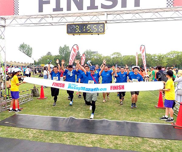 豊川リレーマラソン2019に参加しました。1