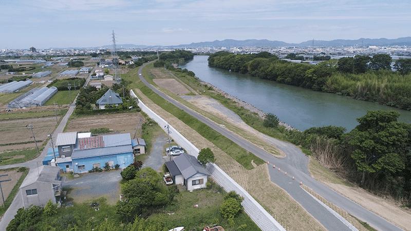 平成30年度 豊川牛川堤防補強工事