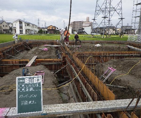 エイル リーブル 新築工事【基礎工事】3