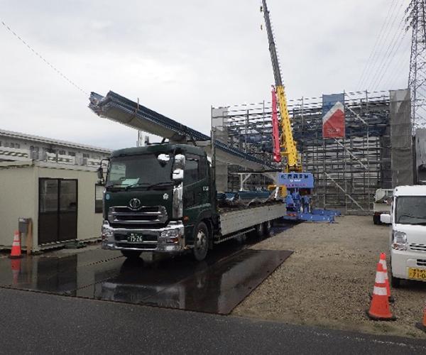 エイル リーブル 新築工事【外部屋根】
