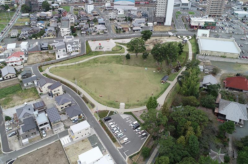 豊川市駅東土地区画整理地内 公園整備工事