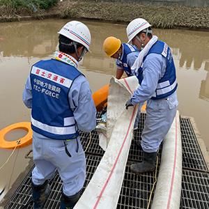 台風19号による災害支援活動
