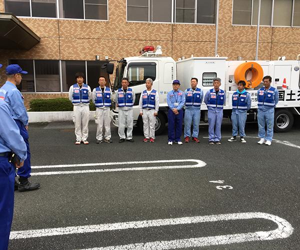 台風19号による災害支援活動1