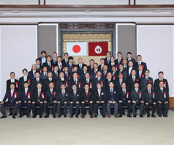 愛知県建設部優良工事施工業者として表彰されました1