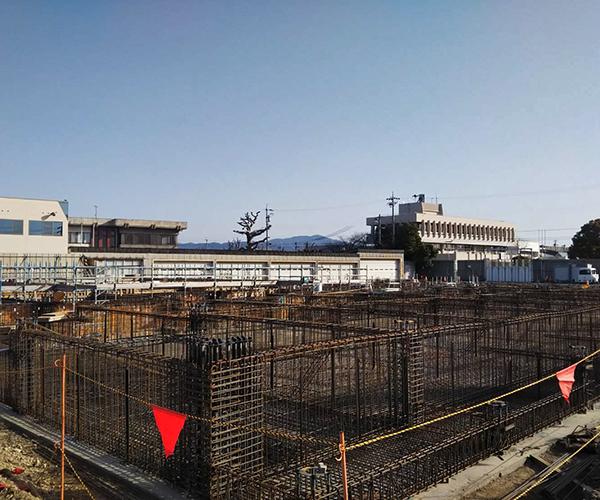 小坂井地域交流会館(仮称)建設工事のうち建築工事2