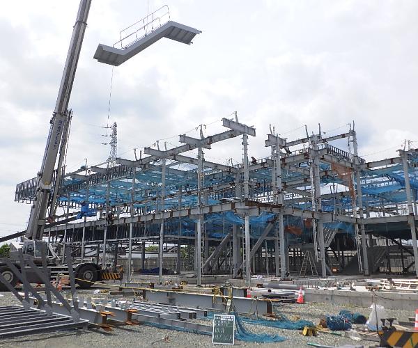 小坂井地域交流会館(仮称)建設工事のうち建築工事3