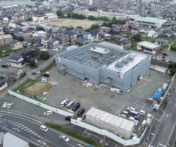 小坂井地域交流会館(仮称)建設工事のうち建築工事