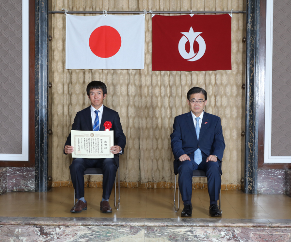 愛知県建設部局優良工事施工業者として表彰されました1