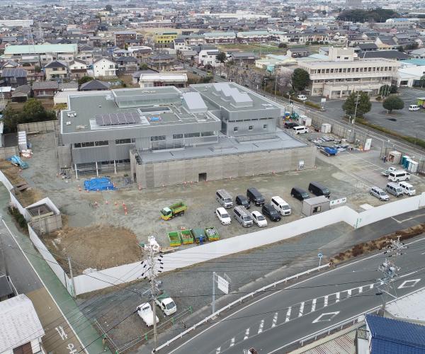 小坂井地域交流会館(仮称)建設工事のうち建築工事1